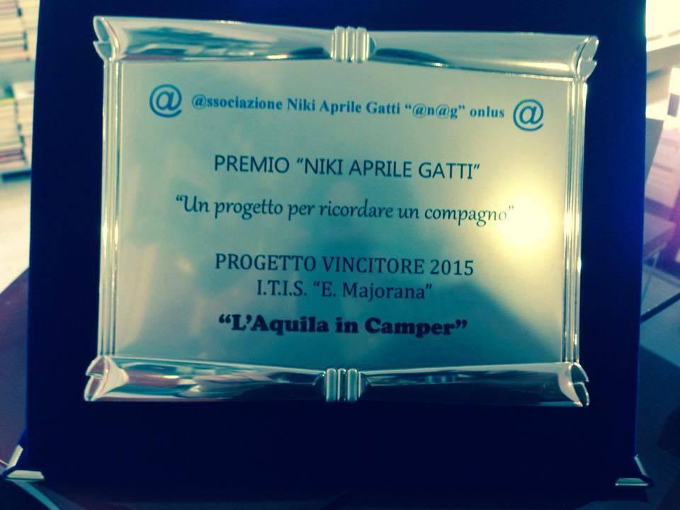 Premiazione 2015
